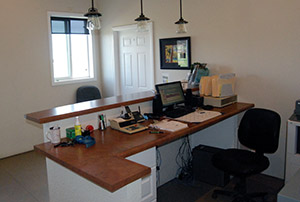 Front office and reception - Rocky Mountain Kennels in Longmont, Colorado